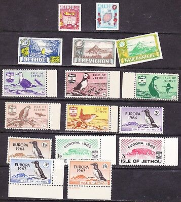 GB Locals - Jethou Island - nice little collection inc. better - see all scans