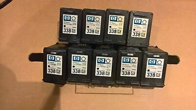 Hp338 Empty Ink Cartridges X 9 Genuine Hp Never Been Refilled Used Cartridges