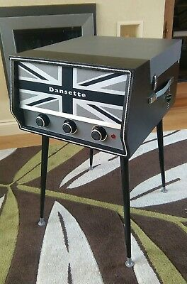 GENUINE 1960s DANSETTE CONQUEST AUTO FULLY REFURBISHED RECORD PLAYER