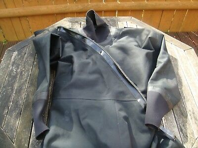 BLACK typhoon breathable dry suit latest uk special forces fire resistant xl
