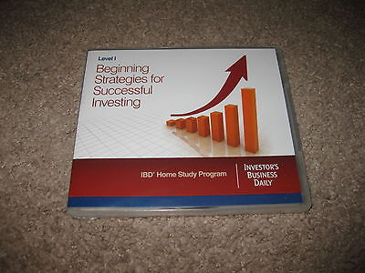 IBD Investors Business Daily Beginning Strategies for Successful Investing DVD