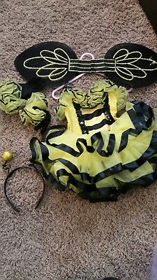 dance costume child xs bumblebee comes with all accessories