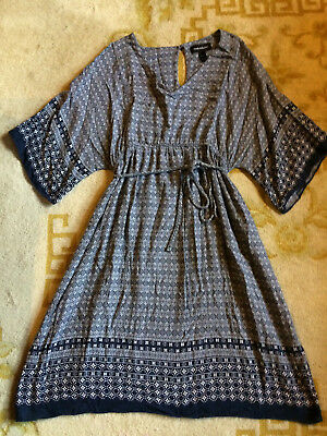 Wendy Bellissimo Motherhood Maternity Dress Size Medium EUC!