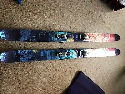 2013 Armada Bubba Skis 188 cm, Great shape, Powder skis, Fat, 132mm Underfoot