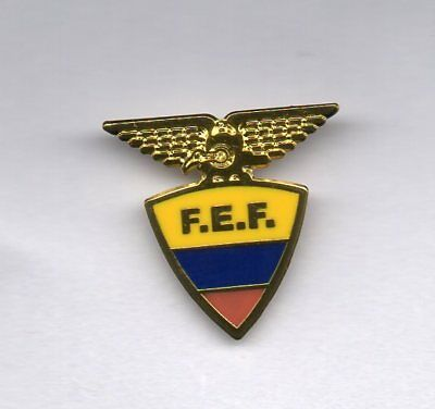 Equador F.a. Badge....new