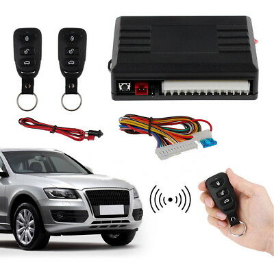 Universal Keyless Entry Door Lock Car 2 Remote Central Kit Vehicle System DT