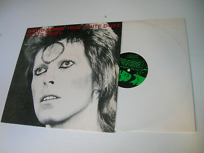 David Bowie–thin white duke meets ziggy rare unofficial vinyl Limited Edition