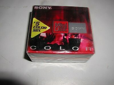 Sony Mini Disc X5 Colour Mix Pack 74