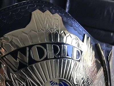WWF Winged Eagle Belt Signed by Bret 'Hitman' Hart & Shawn Michaels!