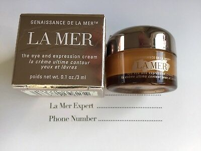 La Mer Genaissance The Eye And Expression Cream Deluxe 3ml Worth £51 New Boxed