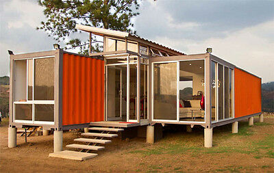 Steel Shipping Container NEW INFO convert to a home office or workshop inc Video