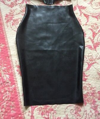 Skin Two Latex Pencil Skirt Size L