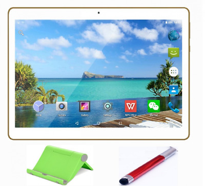 Teeno Tablette Tactile HD 10.1'' Blanc Doule SIM Double caméras + Stylet tactile