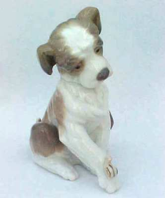 Lladro New Friend Puppy With Snail  Figurine Boxed 06211