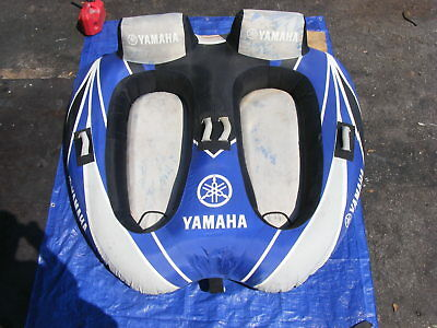 Yamaha 2-Cockpit Float Towable Inflatable Tow Boat Rider Water Sports
