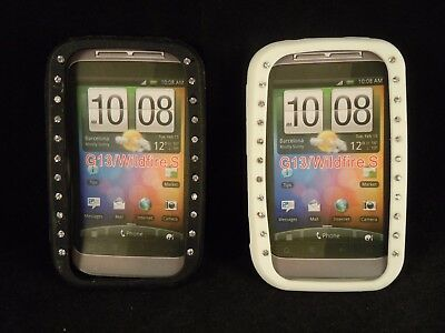 Job lot of 10 black and 10 white HTC G13 Wildfire rubber cases car boot stock?