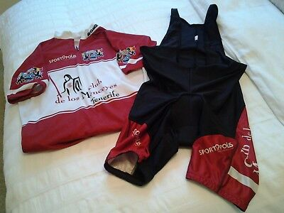 Belgium racing team, cycling body and racing top. Excellent condition.