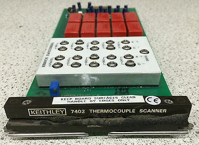 Keithley 7402 9-Channel Thermocouple Scanner Card