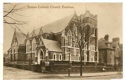 EVESHAM  roman catholic church- Worcestershire -PP-a3-5