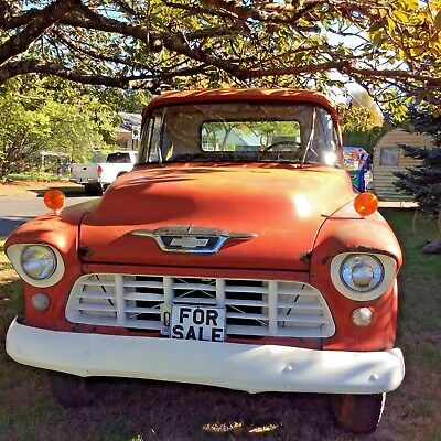1955 Chevrolet Other Pickups  1955 Chevrolet 3500 1 Ton Flat Bed Truck