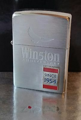 Zippo Lighter Winston 50 Years Anniversary RARE New In Box Vintage 2000 RJR