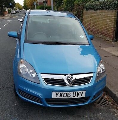 Vauxhall Zafira Club 2006 1.6 Petrol 7 Seater 12 months MOT manual