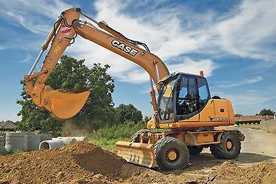 Case WX145 - WX165 & WX185 Excavator Workshop Manual