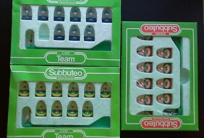 Vintage Subbuteo Teams Job Lot