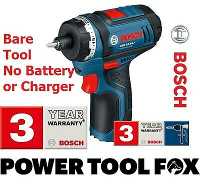 stock0 GSR 10,8 Li BARE Cordless Screwdriver NO BATTERY 0601992901 3165140548427