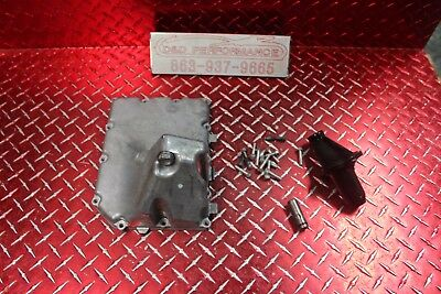 06 -16 Gsxr 600 750 Oem Oil Pan W Pick Up & Bolts No Leaks Has Marks Gx154