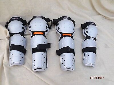 Can Racing Moto Cross / Bmx Leg And Arm Armour Size Medium Child,8 To 12 Years