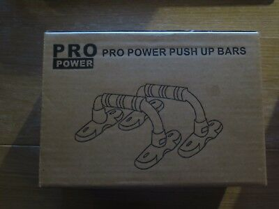 Pro Power Push Up Bars Press Up Stands