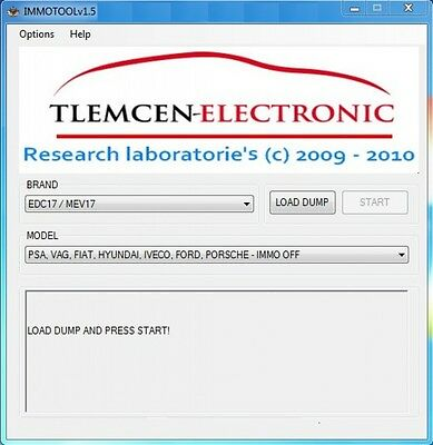 Immo Tool v1.5 software immo off English