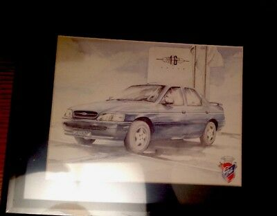 Ghia Orion 16v Limited Edition Print