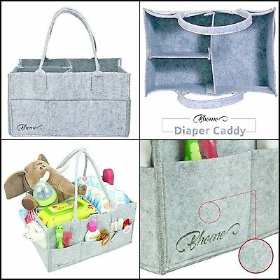 Baby Diaper Portable Diaper Storage Organize,Compartment,Nursery,Nappy Bag&Large