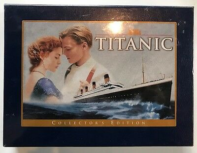 Titanic (VHS, 1999, Collectors Edition) Kate Winslet *Brand New * Free Shipping*