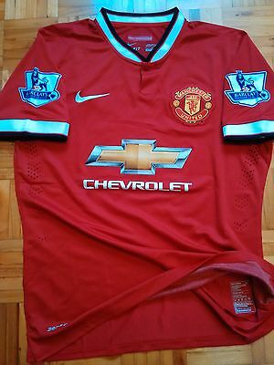 Manchester United Rooney Player Issue shirt Match un worn Jersey L Nike Maillot