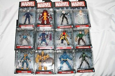 """New Marvel Infinite Series Action Figures 3.75"""" Official Hasbro Toy"""