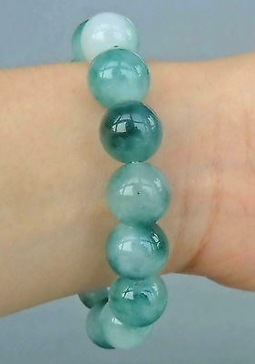 Chinese Handmade Ornament Jade Carved Beautiful Beads Elegant Bracelet Good Gift