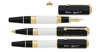 Montblanc Writers Special Edition Shakespeare Set (fountain, rb, mp) 114363 NEW