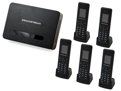 Grandstream DP720/750 Handset & Base Bundle (5 Handsets)