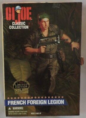 Hasbro 1996 G.I.Joe Limited Edition French Foreign Legion Action Figure