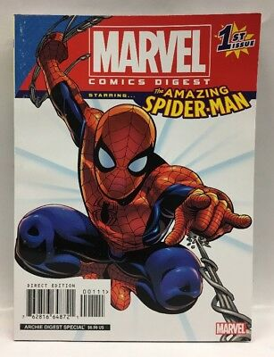 Marvel Comic Digest 1st Issue The Amazing Spider-man