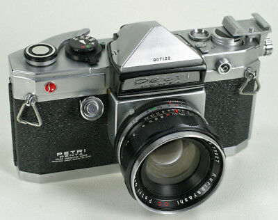 Very Rare Petri Penta Camera With 2 Lenses