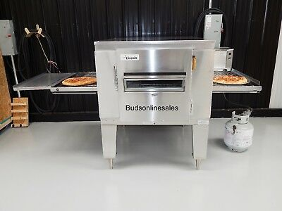 Lincoln Impinger Pizza Gas Conveyor Oven 1450 Commercial Convection Oven