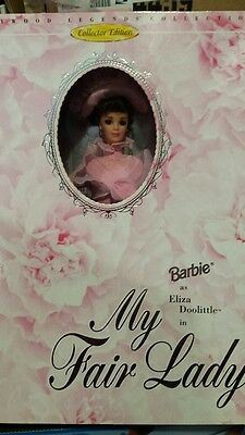 Barbie As Eliza Doolittle My Fair Lady Doll Hollywood Legends Collection NEW