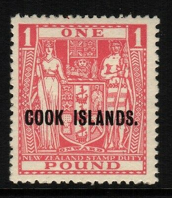 ~  Cook Is., Mint, #103-6, Og Lh, (1) Shown, Great Centering