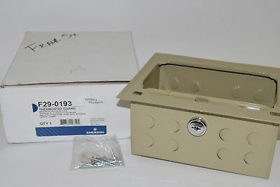 NEW Emerson F29-0193 Thermostat Guard, Ring Base, Metal