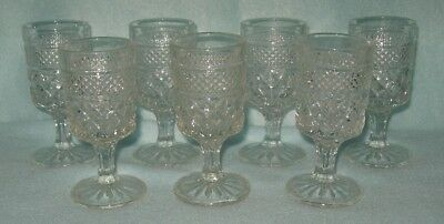 Anchor Hocking Wexford 7  Cordial Goblets 2 Ounce