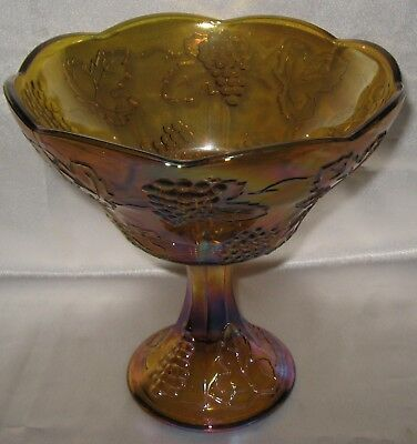 Indiana Harvest Grape Carnival Marigold Amber Compote